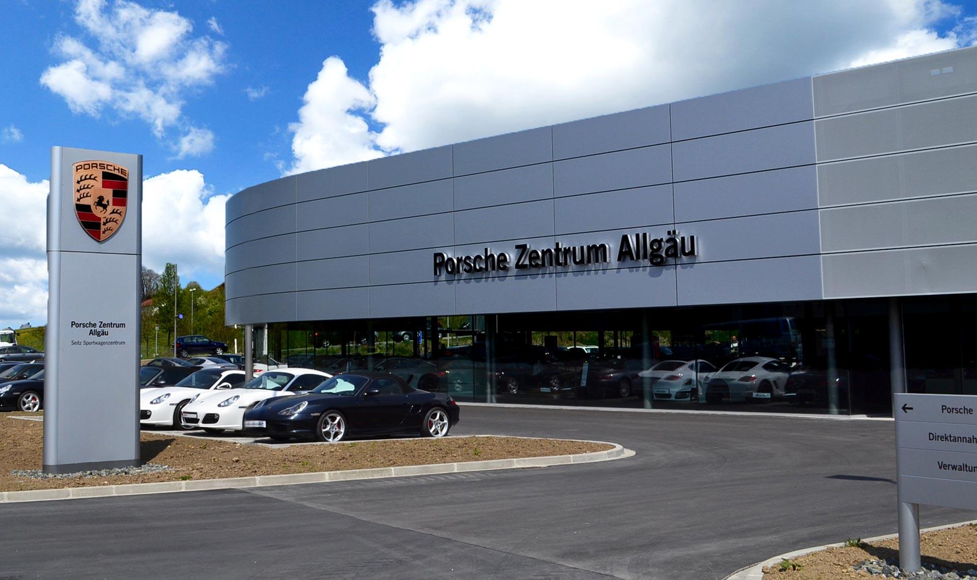 Porsche Zentrum Allgäu, Kempten (D)
